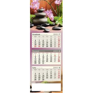 kalendarz trójdzielny - ZEN