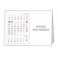 kalendarz Biurkowy - STOJĄCY - PIRAMIDKA POZIOMA