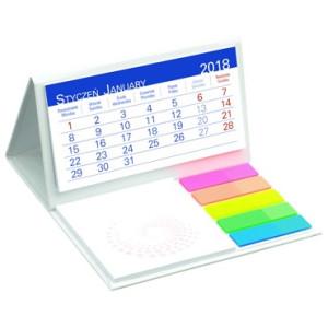 Kalendarz Biurkowy - z NOTESEM MINI- Miesięczny