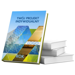 kalendarz książkowy - okładka drukowana 4/0 + folia