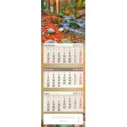 kalendarz trójdzielny - GÓRSKI STRUMIEŃ