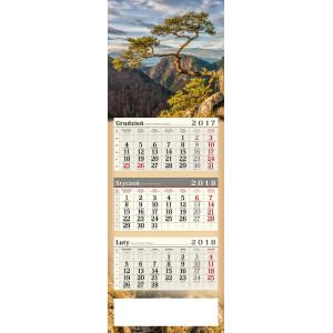 kalendarz trójdzielny - SOKOLICA