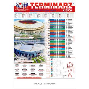 Plakatowy Terminarz Kibica - Mundial 2018