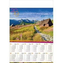 HALA GĄSIENICOWA  kalendarz B1