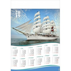 ŻAGLOWIEC kalendarz B1