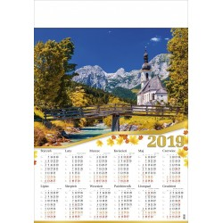 GÓRSKI KOŚCIÓŁEK  kalendarz B1