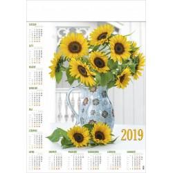 SŁONECZNIKI kalendarz B1