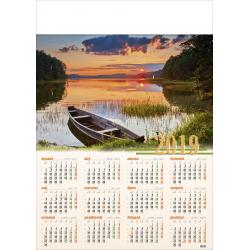 MAZURSKI ZACHÓD kalendarz A1