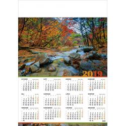 LEŚNY POTOK kalendarz A1