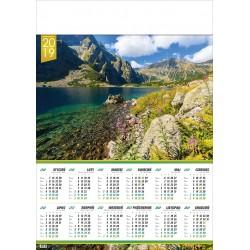CZARNY STAW kalendarz A1