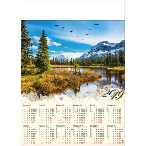 PTAKI W GÓRACH kalendarz A1