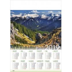 TATRY ZACHODNIE kalendarz A1