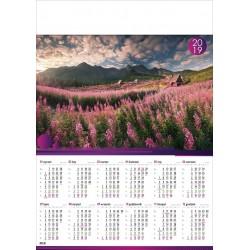 TATRY kalendarz A1