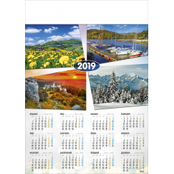 POLSKIE GÓRY  kalendarz A1
