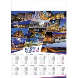 METROPOLIA ŚLĄSKA kalendarz A1