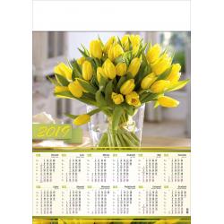 BUKIET KWIATÓW kalendarz A1