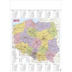 POLSKA kalendarz A1