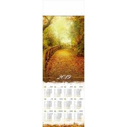 JESIEŃ kalendarz 1/2 B1