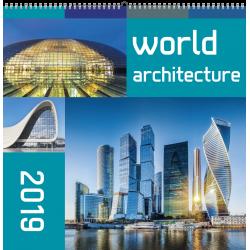KW-24 WORLD ARCHITECTURE wieloplanszowe spiralowany