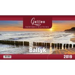 Kalendarz Biurkowy - Stojący - Miesięczny GALILEO