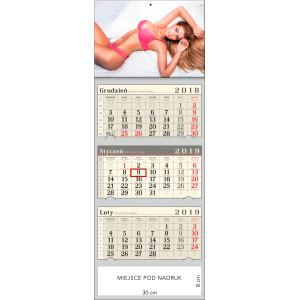 kalendarz trójdzielny- WERONIKA