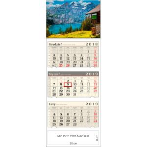 kalendarz trójdzielny- GÓRSKA CHATA
