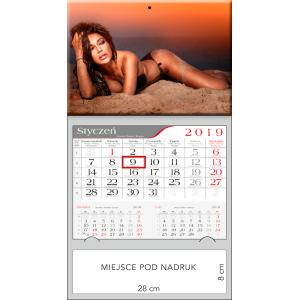 kalendarz jednodzielny  - MONIKA