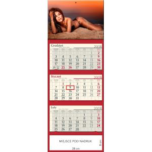 kalendarz trójdzielny - MONIKA