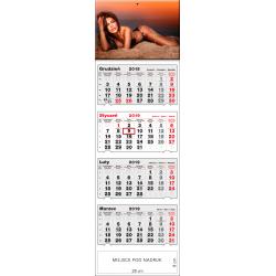 kalendarz czterodzielny - MONIKA