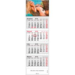 kalendarz czterodzielny - AGNIESZKA