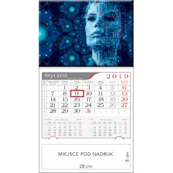 kalendarz jednodzielny  - CYBER