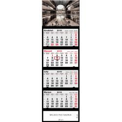 kalendarz czterodzielny - ARCHITEKTURA