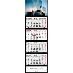 kalendarz czterodzielny - MODERN DESIGN