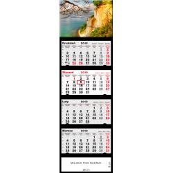 kalendarz czterodzielny -KLIF