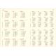 VIVO * A4 tygodniowy CZARNY kalendarz książkowy