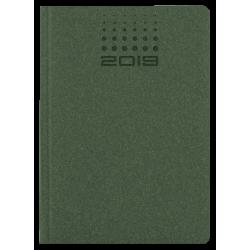 NATURA * A4 tygodniowy ZIELONYkalendarz książkowy