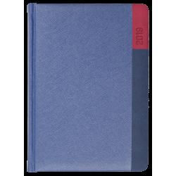 LUNA * A4 tygodniowa  GRANATOWY/ GRANATOWY/ CZERWONYkalendarz książkowy