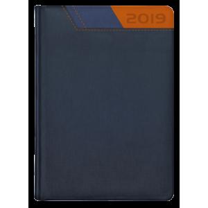 GALAXY * A4 tygodniowa  GRANATOWY /GRANATOWY/ POMARAŃCZOWY kalendarz książkowy