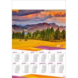 PIENINY  kalendarz B1