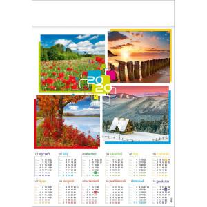 CZTERY PORY ROKU kalendarz B1