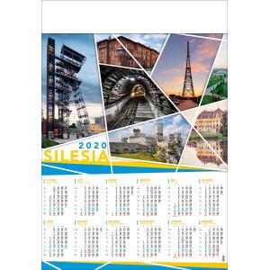 SILESIA kalendarz B1