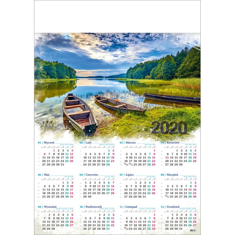 MAZURY  kalendarz A1