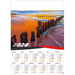 BAŁTYK kalendarz A1