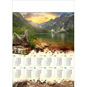 TATRY WYSOKIE kalendarz A1