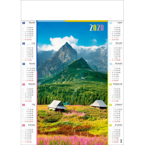 KOŚCIELEC kalendarz A1