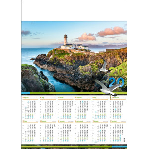 LATARNIA MORSKA kalendarz A1