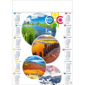 PORY ROKU kalendarz A1