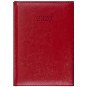 BALADO * A5 dzienny CZERWONY kalendarz książkowy