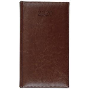 BALADO * A6 tygodniowy BRĄZ kalendarz książkowy