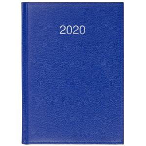 CRONO * A5 dzienny NIEBIESKI kalendarz książkowy